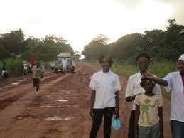 The road to Kono