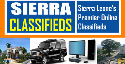 Sierra-Classifieds-Sierra Leone's Premier Online Advertising