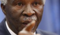 Former South African president Thabo Mbeki