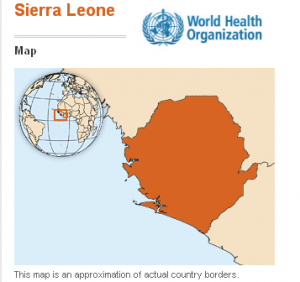 The World Health Organization-Sierra Leone