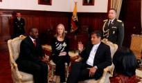 Dr. Yumkella and President Correa of Ecuador