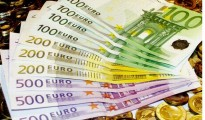 The Euro notes and coins