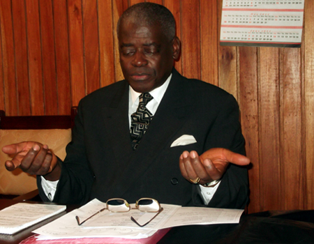 Blyden Jenkins-Johnston (President of The  Sierra Leone Bar Association, 2012)