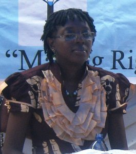 Jamesina King (Commissioner Human Rights Commission of Sierra Leone)