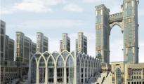 The $26.6bn redevelopment of Makkah has been hailed as the 'project of the century'.