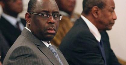 Senegal's President Macky Sall. File photo