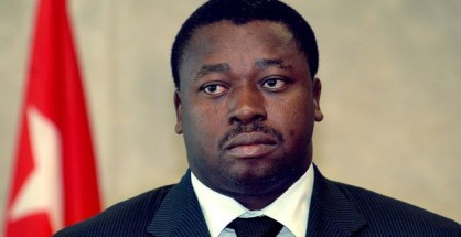 Togo's President Faure Gnassingbe