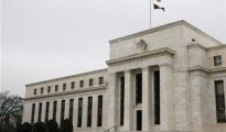 The US Federal Reserve Building is pictured in Washington,