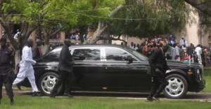 Yayah Jammeh's car