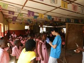 Raffaella in Sierra Leone