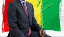 President Alpha Conde of Guinea.