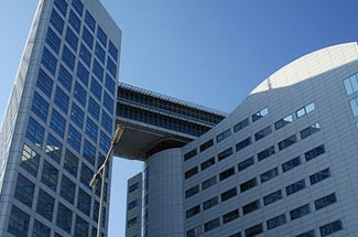 International Criminal Court (ICC) in The Hague, Netherlands