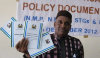 The Dr Seisay Dept CMO Launching the Documents