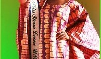 Ruby B. Johnson - Reigning Miss Sierra Leone USA