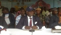 (Admission number 1245. Dr Ernest Bai Koroma) --, during Speech day at the Government Boys Secondary School, Magburaka