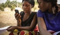 African communities are becoming increasingly mobile-centric (file photo)