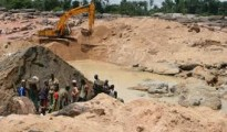 Diamond mining in Sierra Leone (File photo)