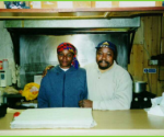 Late Paul Kalito and his wife.