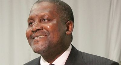 TYCOON: Nigerian billionaire businessman Aliko Dangote