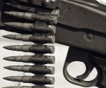Gun with live bullets (file photo)