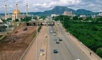 Building roads in Abuja