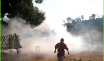 (File photo:-Riots in Koidu Town during the Koidu Holdings killings,2008)