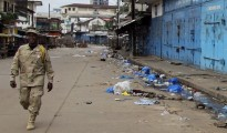 Economic growth in Liberia has been revised down due to the outbreak