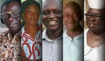 The five co-authors of a Science study who contracted Ebola and died.