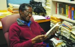 Professor Eustace Palmer:Broken down, an author's writing process