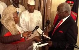 "President Koroma re-elected to pursue his ""Agenda for Prosperity."""