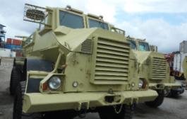 Sierra Leone Military Trucks At Mombasa Port
