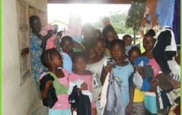West Midlands Hospital Staff Donate to Sierra Leone Village.