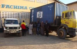 KDDA-(UK) shipment to Kono District, Sierra Leone.