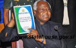Sierra Leone:- Keynote address by President Koroma on