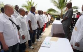 Cuban Ebola responders depart Sierra Leone