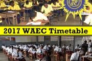 WAEC Timetable 2017 (West African Examination Council)