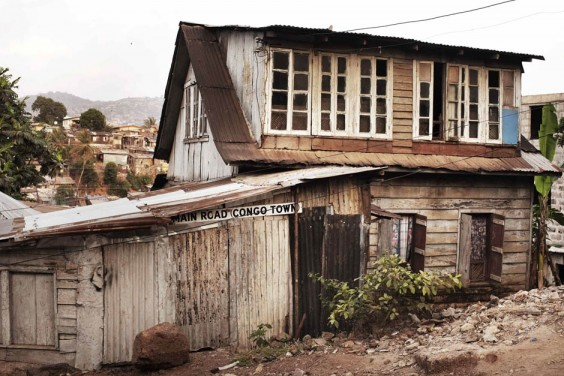 Freetown S Colourful Wooden Houses A Symbol Of Sierra