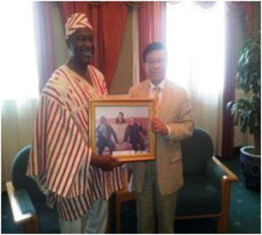 Sierra Leone and China strengthen their bilateral relations.