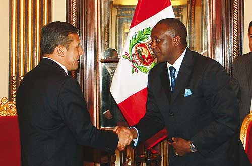 President Humala welcomes UNIDO Director General