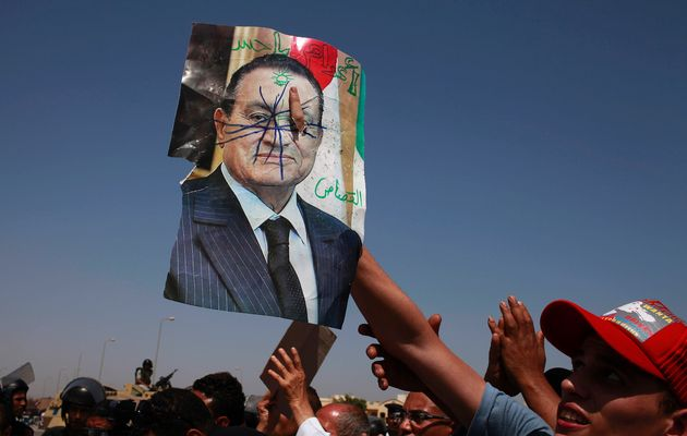 Mubarak of Egypt sentenced to life in prison.