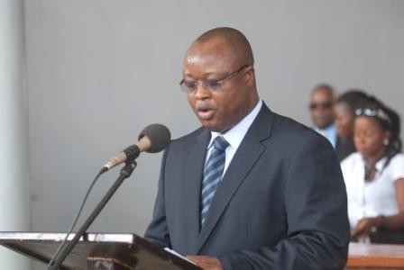 """""""I will not resign, I will help follow the president's agenda for change,"""" -Vice President Of Sierra Leone, Sam Sumana."""