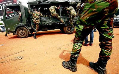Gunmen in predawn raid on Ivory Coast army camp