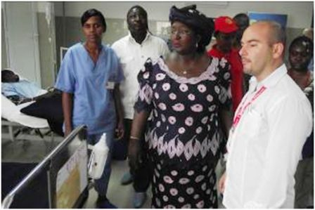 Sierra Leone's First Lady, Sia Nyama Koroma commissions €1 Million Hospital complex and equipments