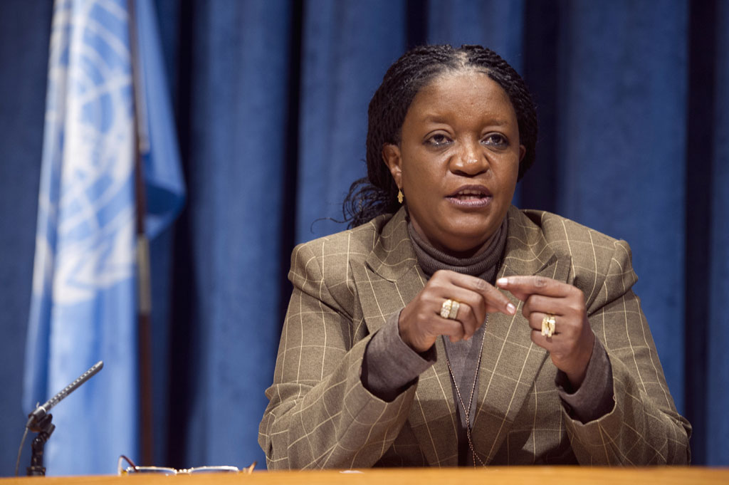... Representative on Sexual Violence in Conflict: Zainab Hawa Bangura: http://www.thisissierraleone.com/sierra-leonean-diplomat-leads-un-classroom-conversations-on-sexual-violence-in-conflict/
