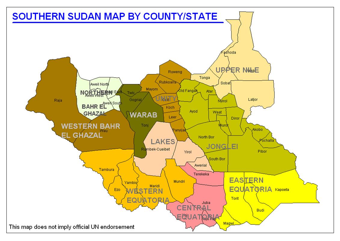 SOUTH SUDAN Peace Democracy and Reconstruction instead of War