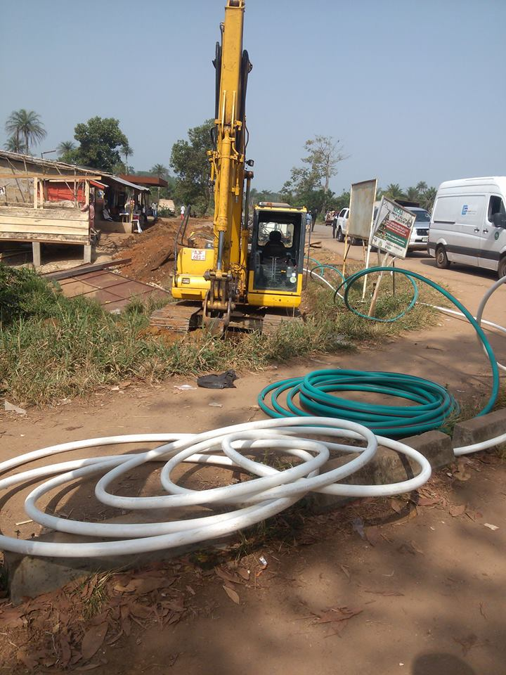 Sierra Leone:- The Blowing of the FIBRE at Masiaka