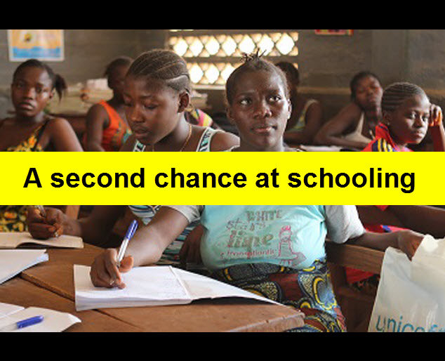 Sierra Leone:- A second chance at schooling for pregnant teenagers